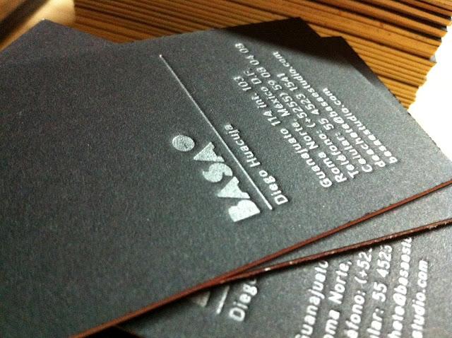 letterpress tarjetas basa 2