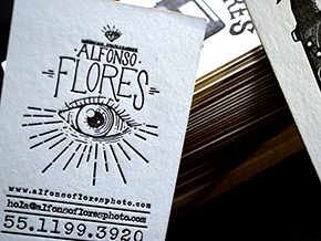 Tarjetas Alfonso Flores